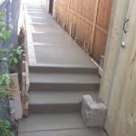 Concrete Steps and Walk