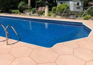 stamped concrete patio Charlotte, NC